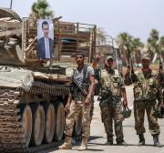 Rebels say Syrian army steps up attacks in Idlib