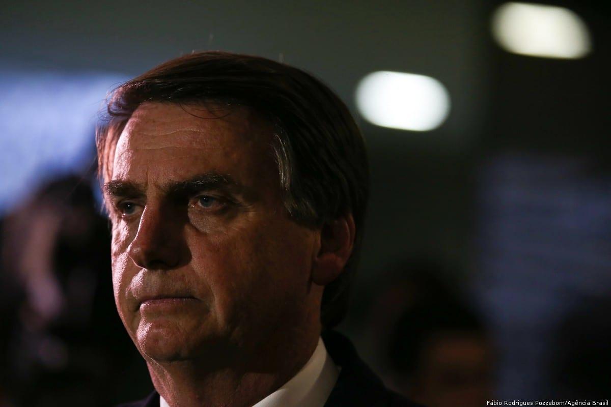 Jair Bolsonaro, newly president of Brazil on 21 June 2016 [Fábio Rodrigues Pozzebom/Agência Brasil]