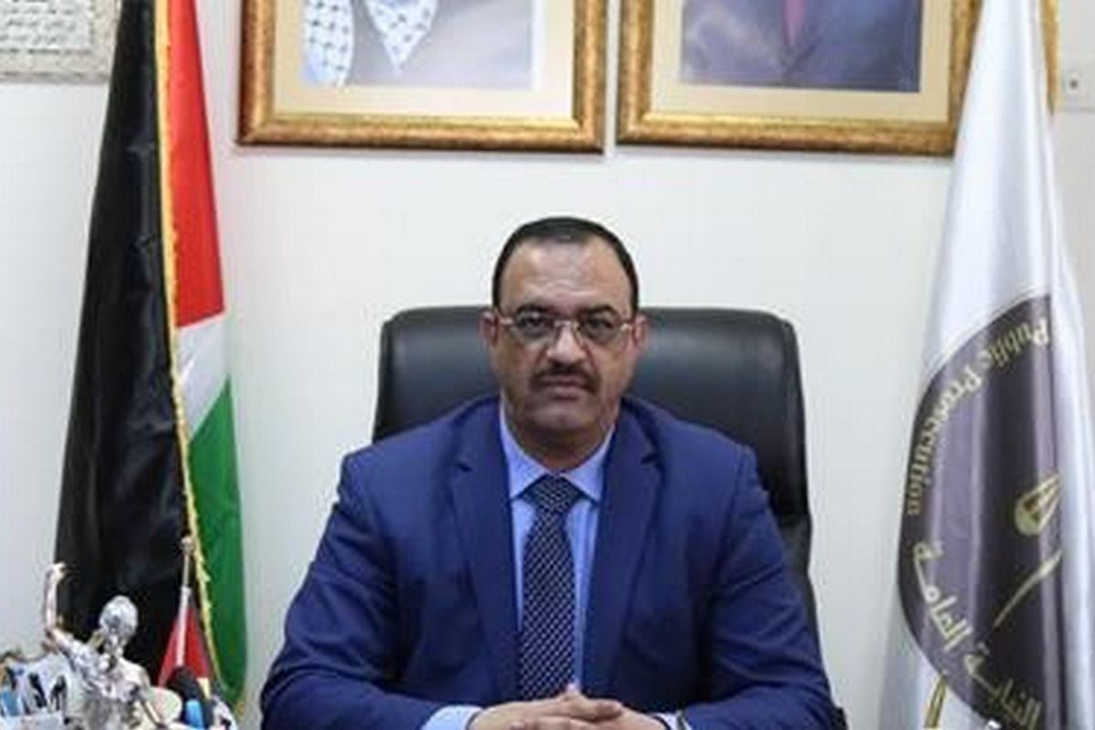 Palestinian Authority's (PA) Attorney General, Ahmad Barak