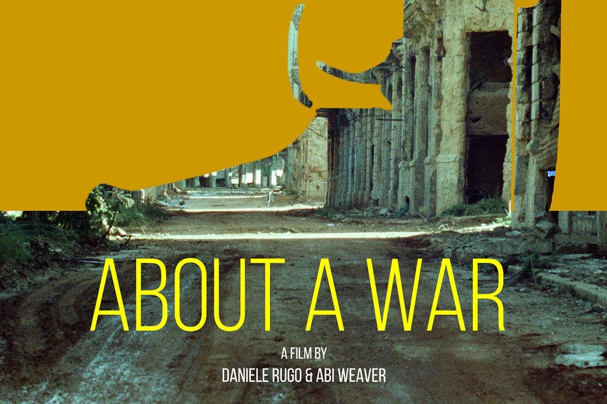 About a War, a documentary, on Lebanese Civil War