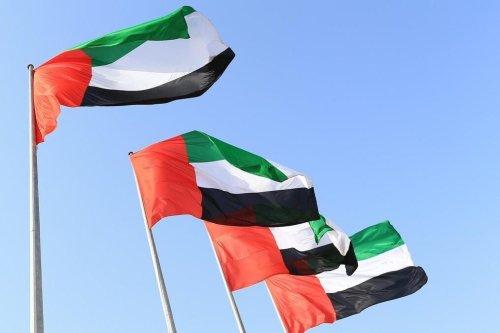 UAE Flags