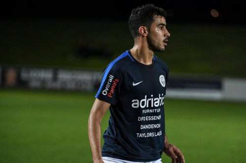Bahraini footballer Hakeem AlAraibi plays for Melbourne team Pascoe Vale FC [pvfc.com.au]