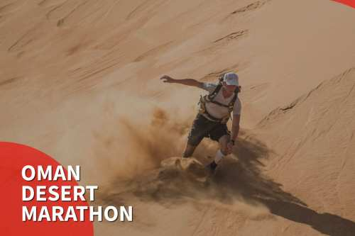 Thumbnail- Marathon held across Omani desert