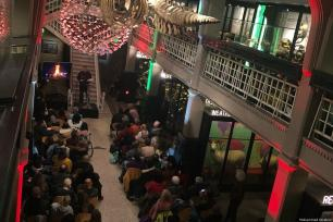 Over 200 people attended this weekend's event in Manchester, UK [Muhammad Ibrahim]