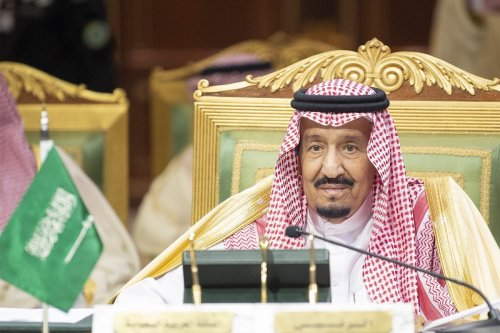 King of Saudi Arabia, Salman bin Abdulaziz Al Saud makes a speech during the 39th Gulf Cooperation Council (GCC) Summit in Riyadh, Saudi Arabia on 9 December, 2018 [Bandar Algaloud/Saudi Kingdom Council/Handout/Anadolu Agency]