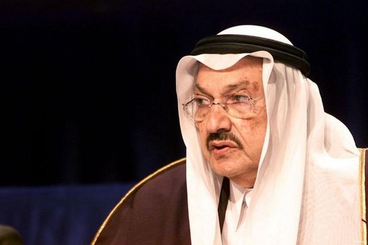 Saudi Prince Talal bin Abdulaziz [Twitter]