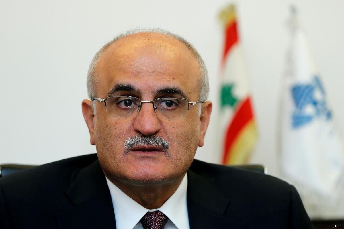 Ali Hassan Khalil, Lebanon's finance minister [Twitter]