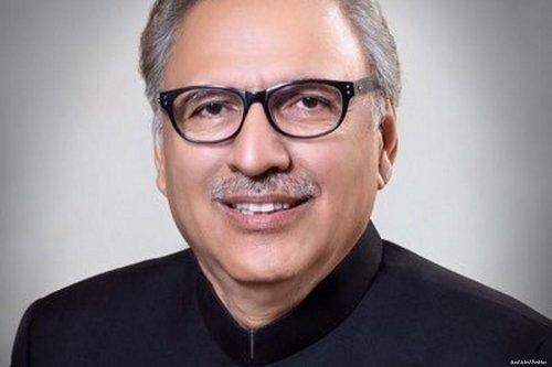 Pakistan's president, Arif Alvi [Twitter]