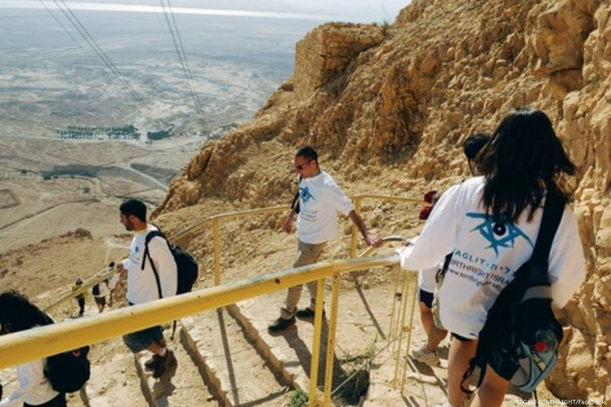 American Jews on a on 'Birthright' trip to Israel