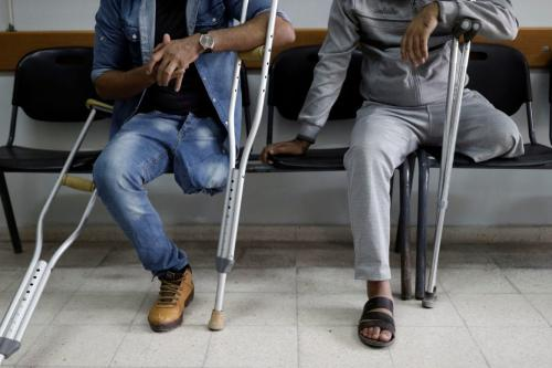 Qatar opens Gaza Amputee Rehab Centre after delays