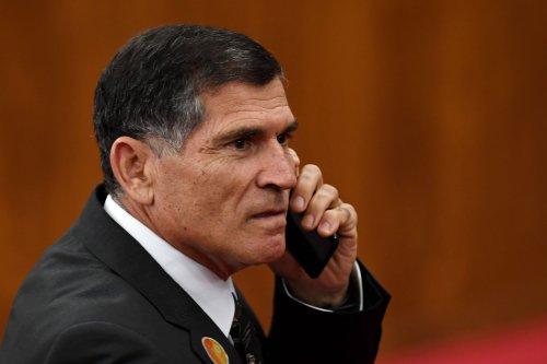 Brazilian Army General Carlos Alberto dos Santos Cruz in Brasilia, Brazil on 10 December 2018 [EVARISTO SA/AFP/Getty Images]