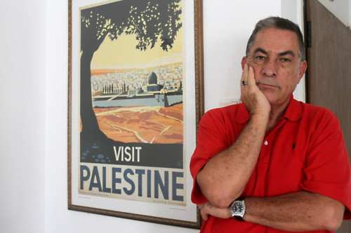 Journalist at Israel's Haaretz newspaper, Gideon Levy poses in his home on August 12, 2014 in the coastal Israeli city of Tel Aviv. (Photo by GIL COHEN MAGEN/AFP/Getty Images)