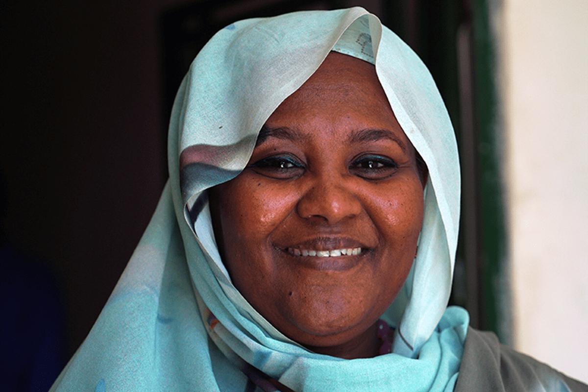 Deputy party leader Mariam Sadiq al-Mahdi [Twitter]