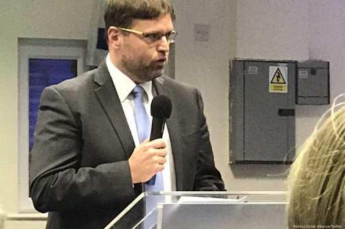 Israel's recently-appointed ambassador to Ireland, Ophir Kariv [Twitter]