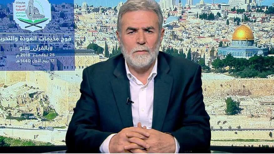 ZiadAl-Nakhaleh. Secretary-General of the Palestinian Islamic Jihad movement