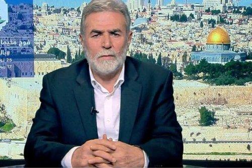 Ziad Al-Nakhaleh. Secretary-General of the Palestinian Islamic Jihad movement