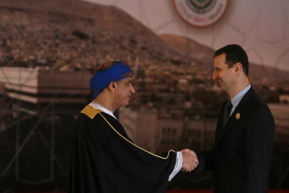 Oman supported Syria for years, says Assad