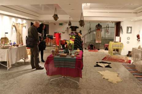 'BAYT   The Art of Arab Hospitality' exhibition at the P21 Gallery in London, UK on 18 January 2019 [Jehan Alfarra / Middle East Monitor]