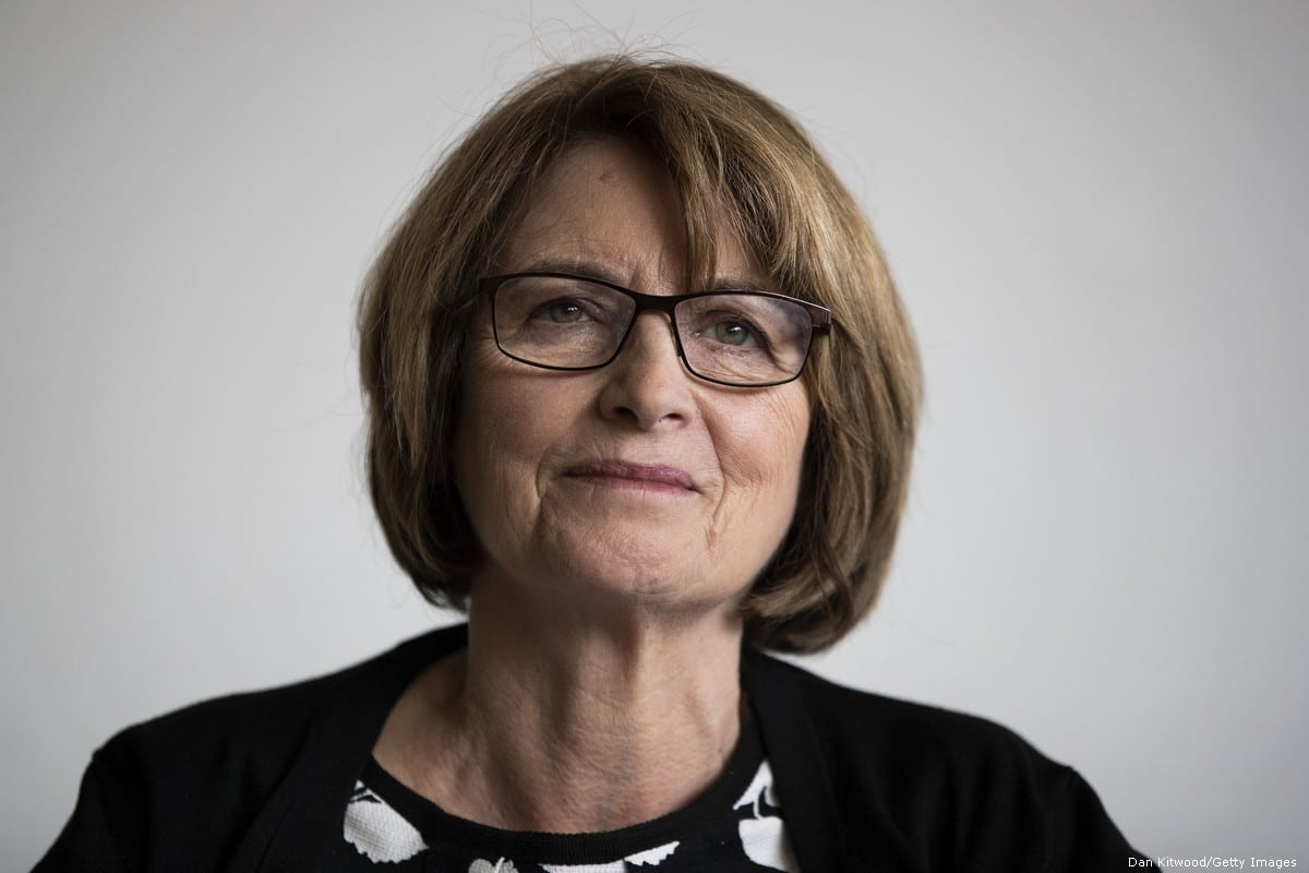 Labour MP Louise Ellman in London, UK on 2 September 2018 [Dan Kitwood/Getty Images]