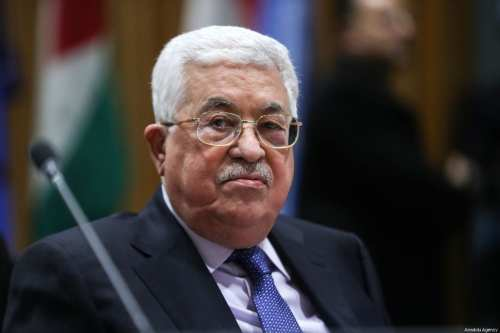 Palestinian President Mahmoud Abbas in New York, US on 15 January 2018 [Atılgan Özdil/Anadolu Agenc