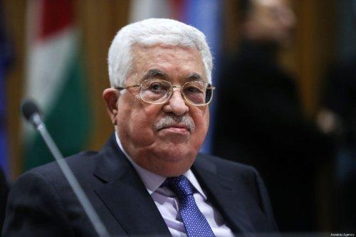 Palestinian President Mahmoud Abbas in New York, US on 15 January 2018 [Atılgan Özdil/Anadolu Agenc