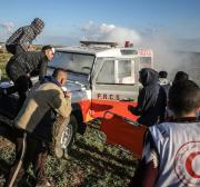 30 Palestinians injured by Israeli forces in Gaza