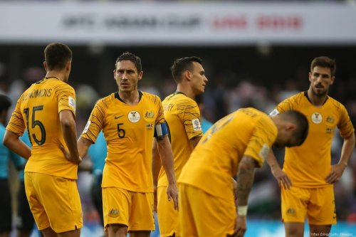 Australian national football team during the Asian Cup on 6 January 2019 [Yifan Ding/Getty Images]