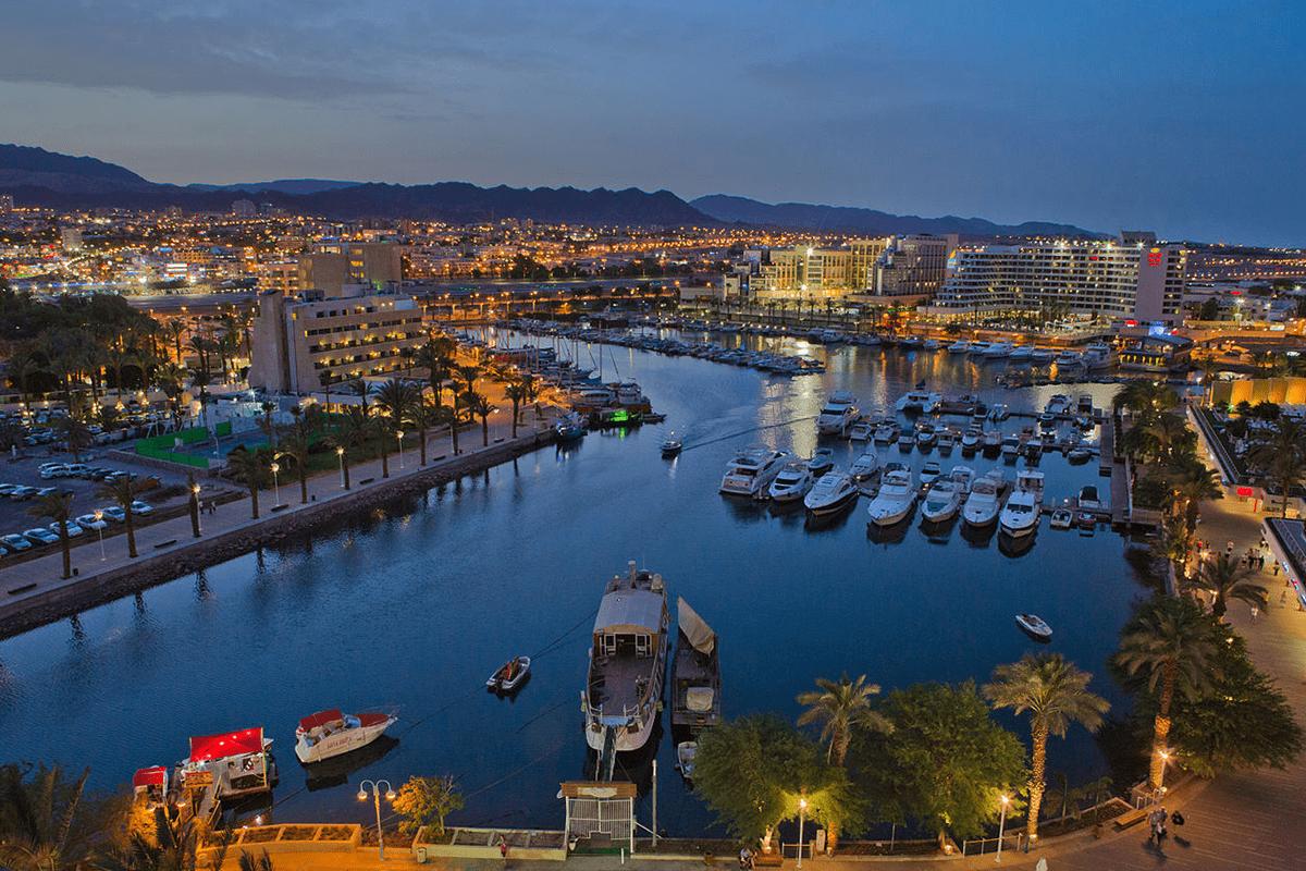 Red Sea resort of Eilat [Wikipedia]