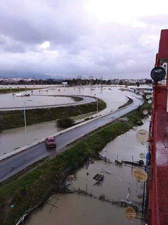Floods kill five in snow-hit Algeria, roads flooded in El-Hadjar [Facebook]