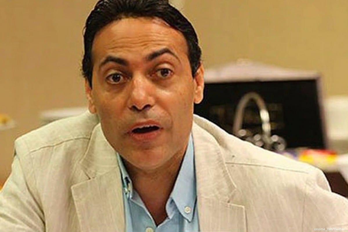 Egyptian TV presenter Mohamed El Ghatit [onome_tsb/Twitter]