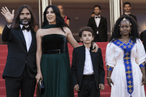 Nadine Labaki, and the cast of her film Capharnaüm at the Cannes Film Festival in May 2018 [Wikipedia]