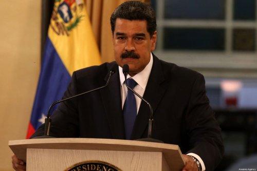 Venezuelan President Nicolas Maduro in Caracas, Venezuela on 8 February 2019 [Lokman İlhan/Anadolu Agency]