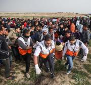 Israel wounds 8 Palestinians in Gaza marches