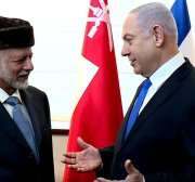 Israel is present in 6 Arab countries