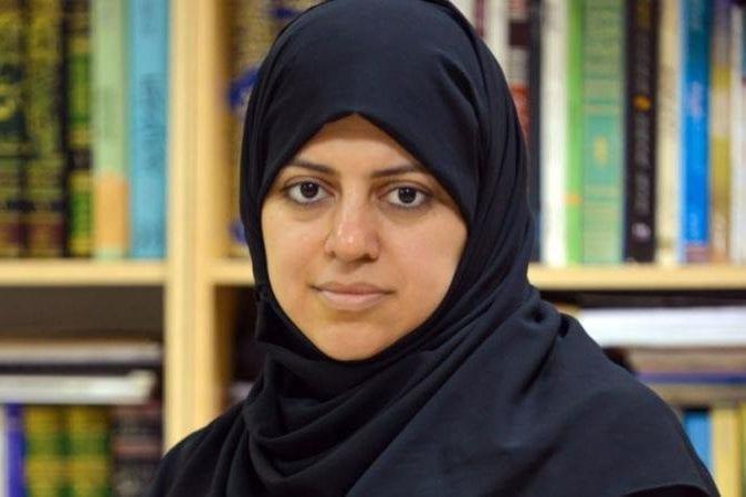 Saudi activist Nasima Al-Sada [Twitter]