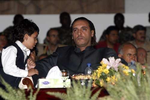 Hannibal Kadhafi, son of Libyan leader Moamer Kadhafi [MAHMUD TURKIA/AFP/Getty Images]