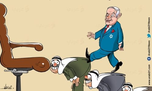 Normalisation with Israel -Cartoon [Arabi21News]