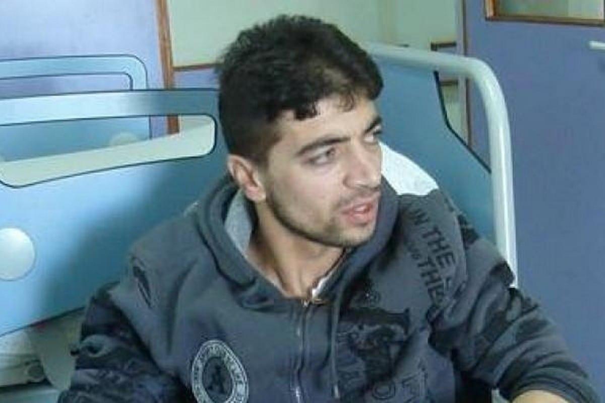 Palestinian prisoner Mu'taz Abedo,
