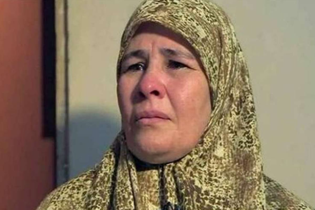 Umm Zubeida, the mother of Zubeida Ibrahim Yousef, who was arrested after publicly speaking about the disappearance and rape of her daughter by Egyptian security forces [Facebook]