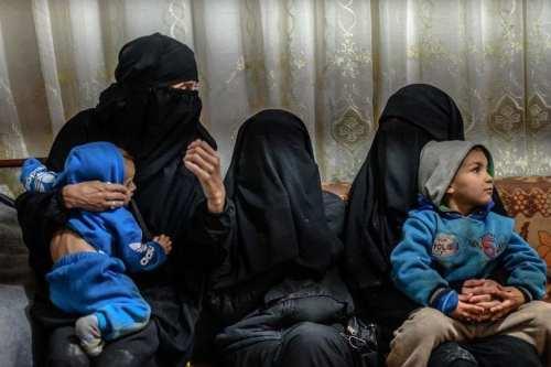 Daesh's brides and their children [Twitter]