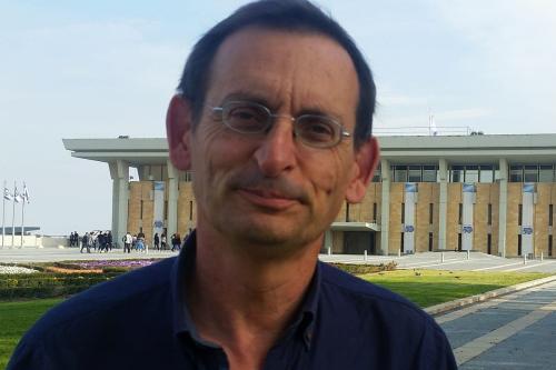 Israeli Knesset Member (MK) Dov Khenin