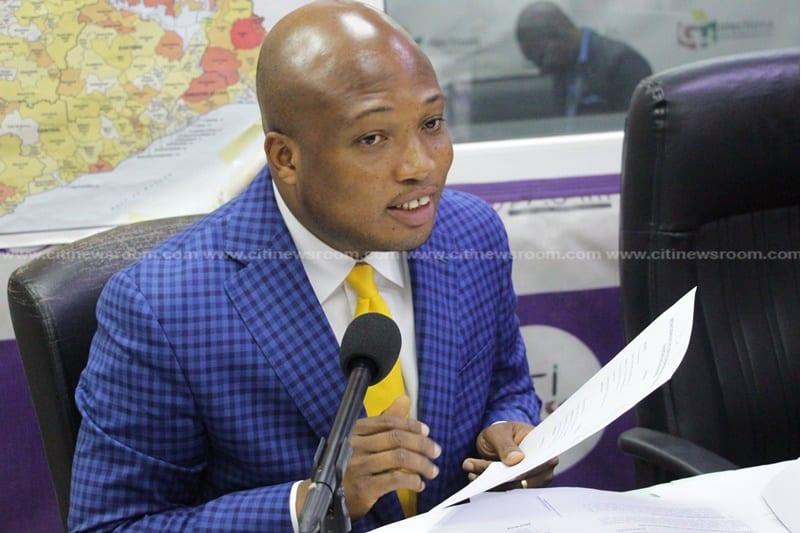 MP for North Tongu, Samuel Okudzeto-Ablakwa