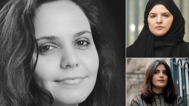The women who have been arrested by Saudi forces