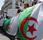 Algerians protest demanding the departure of Bouteflika allies
