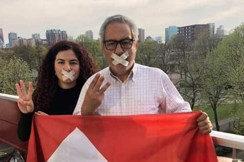 In solidarity with Moroccan protest leader Nasser Zefzafi, who has sewn his lips together after, Moroccans took to social media to post pictures of themselves with tape over their mouths