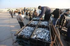 Fishing in Gaza [Moahammed Asad/Middle East Monitor]