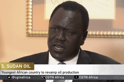 Ezekiel Lol Gatkuoth, S.Sudan Minister of Petroleum [Youtube]