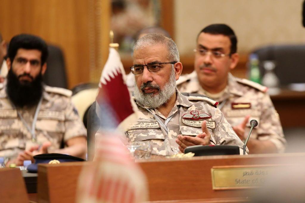Qatari armed forces Chief of Staff Major General Ghanem Bin Shaheen al-Ghanem [YASSER AL-ZAYYAT/AFP/Getty Images]
