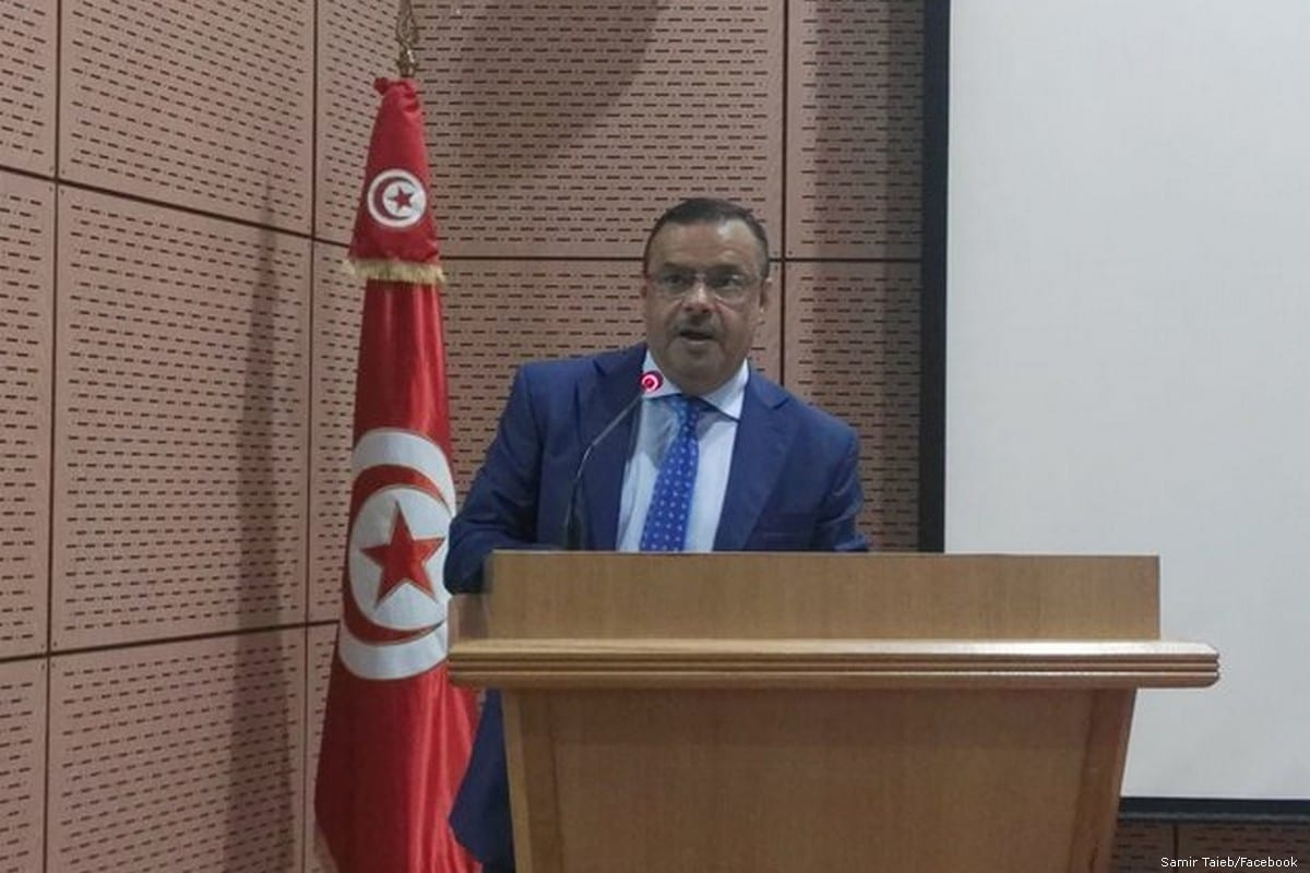 Tunisia's Minister of Agriculture, Water Resources and Fishery, Samir Taieb [Samir Taieb/Facebook]