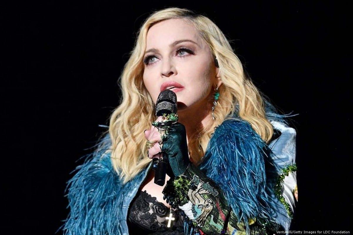 American pop superstar Madonna in France on 26 July 2017 [Venturelli/Getty Images for LDC Foundation
